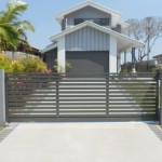 Sliding Driveway Gate – Aluminium – Slats – Powder Coated – ATA NeoSlide Remote Automatic Gate Opener – Brighton – Brisbane