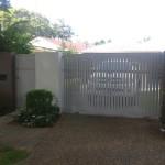 Sliding Driveway Gate – Aluminium – Slats Vertical – BFT Ares Sliding gate opener – Clayfield – Brisbane