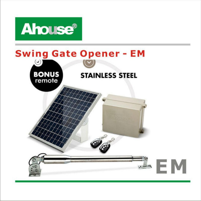 Ahouse automatic swing gate opener + Solar Kit