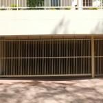 Sliding Carpark Driveway Gate – Aluminium – Round Tube – Vertical – Remote Control – Automatic Gate Opener – Albion – Brisbane – 4010