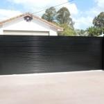Sliding Driveway Gate – Aluminium – Slats – Automatic Technology Australia (ATA) NeoSlide Automatic Gate opener – Morayfield – Brisbane